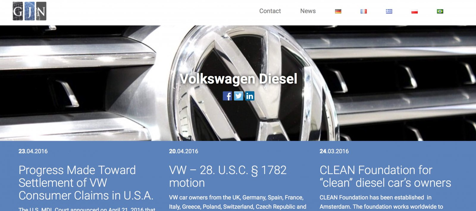 VW Global Justice Network